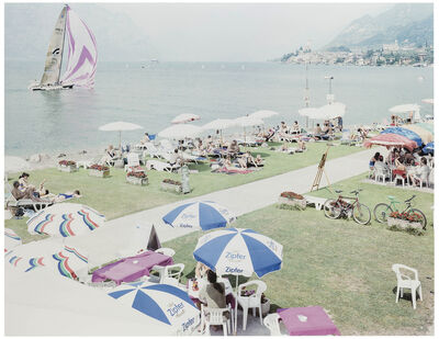 Massimo Vitali, 'Malcesine Sail (from A Portfolio of Landscapes and Figures)', 2006