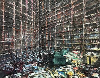 Massimo Giannoni, 'La stanza del poeta', 2019