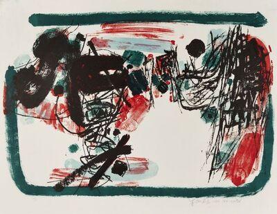 Chu Teh-Chun, 'Village in a Red Rain', 1960