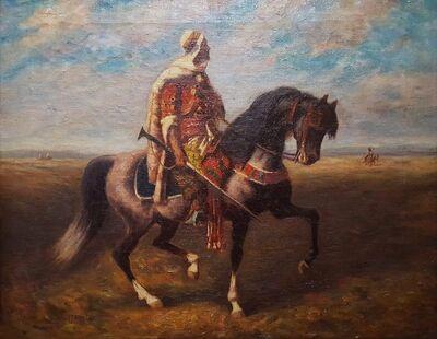 Adolf Schreyer, 'An Arab Horseman', ca. 1880