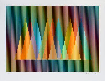 Carlos Cruz-Diez, 'Serie Cardíaca Triángulo 2', 2015