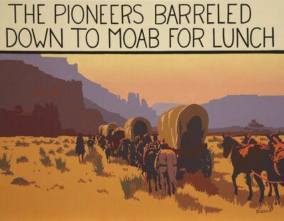 """Billy Schenck, '""""Pioneers Barreled""""'"""