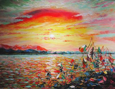 Zhang Shengzan 张胜赞, 'Glow', 2004