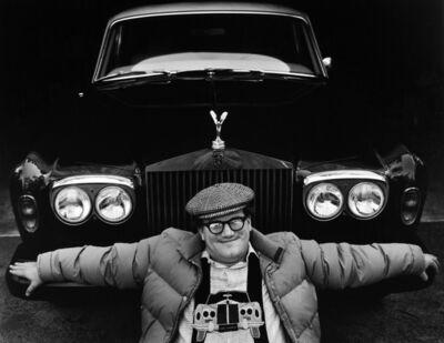 Judy Dater, 'Bill Turnage & his Rolls', 1977