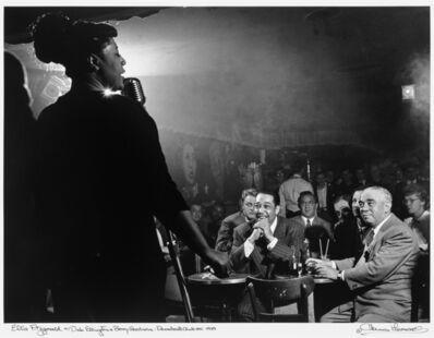 Herman Leonard, 'Ella Fitzgerald, Duke Ellington, Benny Goodman, NYC, 1948', 1948