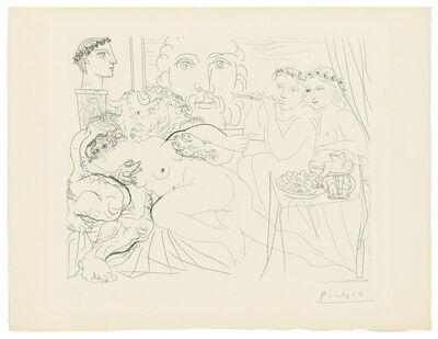 Pablo Picasso, 'Minotaure caressant une femme, from: La Suite Vollard', 1933