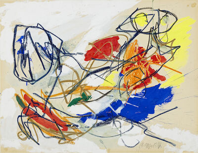 Karel Appel, 'Rencontre', 1954