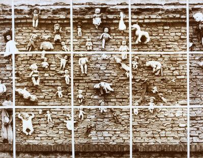 Aldo Tagliaferro, 'Progetto per analisi del feticismo da una immagine trovata particolare - Variante seppia n.1', 1977