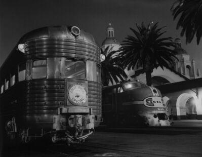 "Richard Steinheimer, 'San Diego Depot Ste. Allied Artist's Train for Screening of Film ""Patop""'"