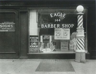 Rudy Burckhardt, 'Haircut Shave', ca. 1939