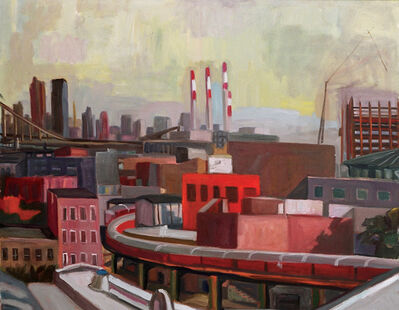 Michael Kovner, 'A view from the Studio in Long Island City', 2003