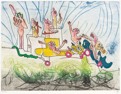 Roberto Matta, 'Les Oh Tomobiles - image II', 1972