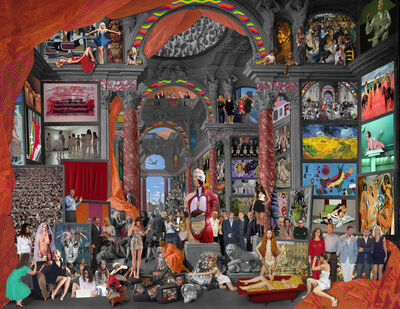 Lluis Barba, 'Gallery of Views of Modern Rome. Giovanni Paolo Pannini', 2012
