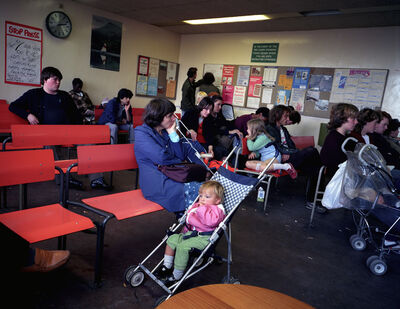 Paul Graham, 'Mother and Baby, Highgate DHSS, North London, 1984 from the series Beyond Caring', 1984
