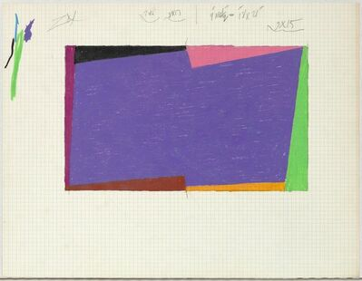 Larry Zox, 'Untitled (Rotation)', ca. 1968