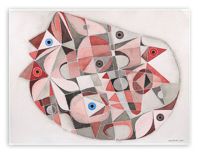 Jeremie Iordanoff, 'Chambre (Abstract work on paper)', 2006