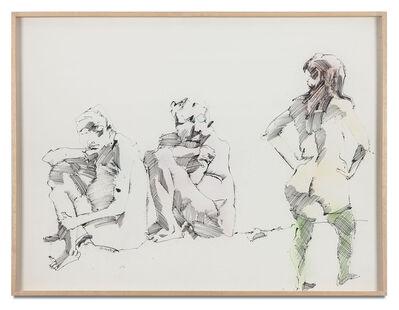 John Altoon, 'Untitled (F-5)', 1966