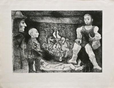 Pablo Picasso, 'Picasso, son oeuvre, et son Public', 1968