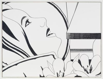 Tom Wesselmann, 'Bedroom Face Drawing', 1977-1979