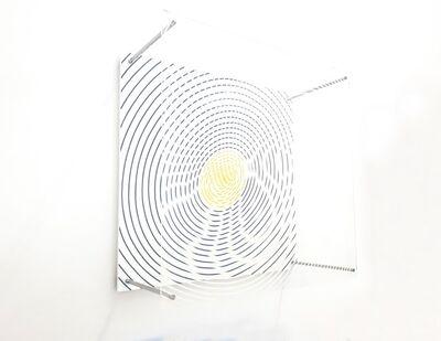 Jesús Rafael Soto, 'Espiral con amarillo', 1995
