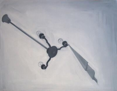 Pál Gerber, 'Object stuck in chandelier', 1998