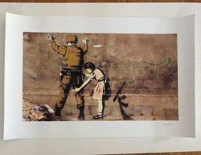 After Banksy, 'Soldier and Girl', 2018