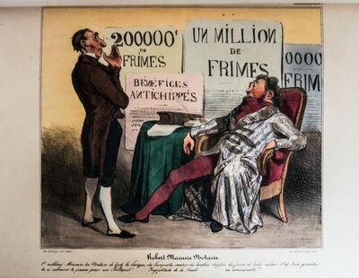 Honoré Daumier, 'Les Robert Macaire [Caricaturana]', 1836 -1838