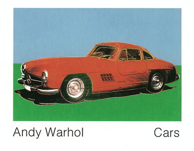 Andy Warhol, '300 Sl Coupe (1954) (Lg)', 1989