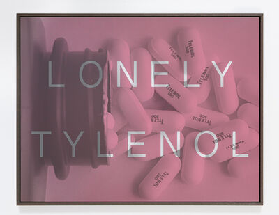 Massimo Agostinelli, 'Lonely Tylenol', 2014