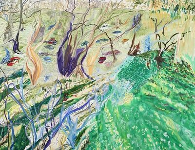 Olive Ayhens, 'Polluted Swamp', 2017-2018