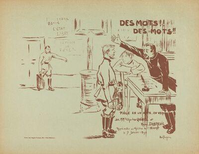 Louis Abel-Truchet, 'Des Mots! Des Mots!', 1896