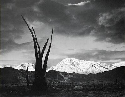 Ansel Adams, 'Sunrise, Mt Tom, Sierra Nevada, CA, 1948', 1948
