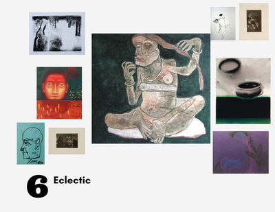 Laxma Goud, 'Cluster 6', 1972-2020