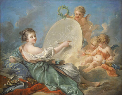 François Boucher, 'Allegory of Painting', 1765