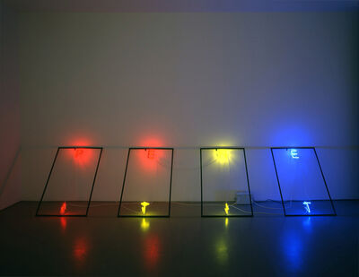 Bas Jan Ader, 'Untitled (Neon sculpture)', 2005