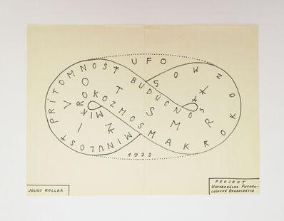 Július Koller, 'Projekt Univerzálina Futuro-Logická Organizácia', 1973