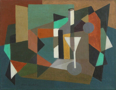 Morris Blackburn, 'Abstraction with Martini Glass c. 1945', ca. 1945