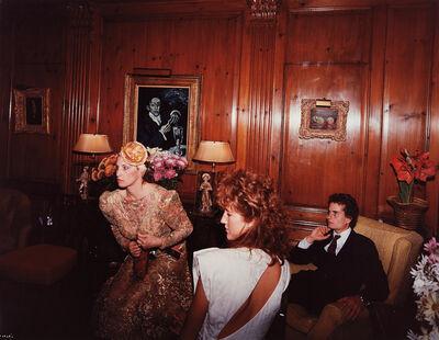 Tina Barney, 'The Reception', 1985