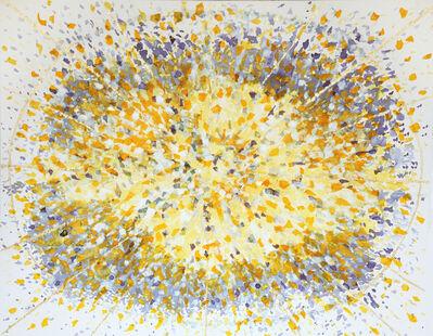 Saya Behnam, 'Hibiscus Tea Series: Quantum Saffron Light', 2017