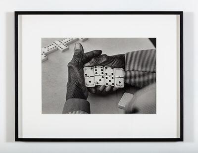 Martine Barrat, 'Eric Williams, the dominoes champion (Harlem)', 1983