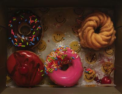 Jason Walker (b. 1970), 'Donut Happy', 2019