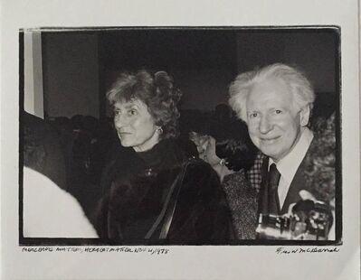 Fred W. McDarrah, 'Herbert & Mercedes Matter', 20th Century