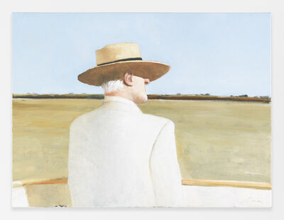 Julio Larraz, 'The Gambler', 2015