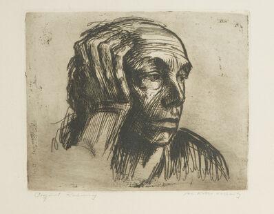 Käthe Kollwitz, 'Selbstbildnis', 1921