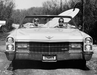 Michael Dweck, 'Dave and Pam in their Caddy, Montauk, NY ', 2002