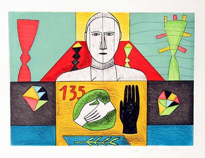 Mimmo Paladino, 'Mathematico 3', 2001
