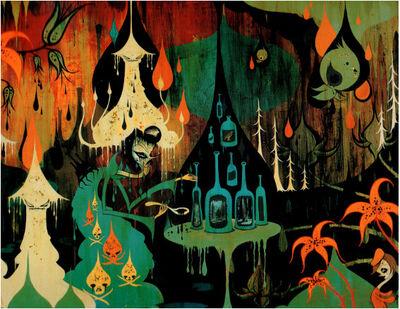Camille Rose Garcia, 'Royal Disorder Escape Plan', 2005