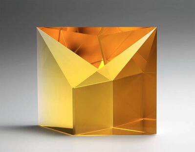 Tomáš Brzon, 'Gold Amber Reflection', 2015