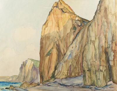 Robert Antoine Pinchon, 'Falaises a Varengeville II', 1910-1940