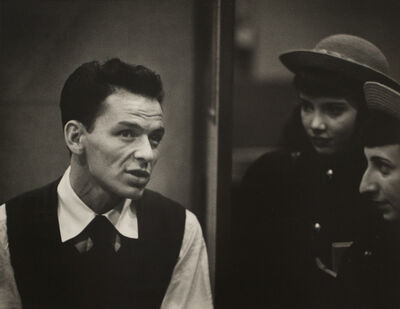 W. Eugene Smith, 'Recording Artists, Frank Sinatra', 1947-1951